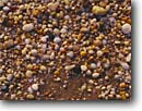 Stock photo. Caption: Quartz rocks   at Sunset Beach New Jersey -- Keywords: united states america concepts background backgrounds detail details pattern patterns rock tumbled polished