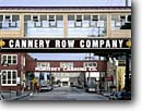 Stock photo. Caption: Catwalks, Cannery Row Monterey Monterey Peninsula California -- catwalk canneries county tourist destination destinations pacific coast travel united states america street streets road roads urban attraction attractions building buildings commerce