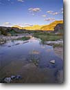 Stock photo. Caption: Rocks and reeds below Rainbow Mountain Amargosa Gorge Amargosa proposed Wild & Scenic River Inyo County, Mojave Desert, California -- Keywords: united states america parks mohave rivers unprotected deserts cloud clouds china ranch great basin range landscape landscapes eastside