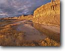 Stock photo. Caption: Amargosa Gorge near Shoshone Amargosa proposed Wild & Scenic River Inyo County Mojave Desert,  California -- Keywords: united states america parks mohave rivers unprotected deserts cloud clouds china ranch great basin range landscape landscapes eastside cliff cliffs