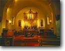 Stock photo. Caption: Mission San Rafael Arcangel 20th mission founded in the  California chain San Rafael Marin County,  California -- united states america missions historic history americana religion religious cross crosses purity pure spiritual missionary period spanish catholic christian christianity arches archways holy church churches places adobe christ interior interiors worship