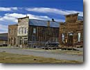 Stock photo. Caption: Ghost town of Bodie Bodie State Historical Park Mono County Great Basin,  California -- parks americana historic nostalgic  building buildings mining town towns goldrush parks rustic arid independence vintage mines main street history eastern