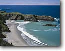 Stock photo. Caption: Coast North of Fort Bragg from Highway 1 Mendocino County California -- landscape landscapes coasts west pacific coastline coastlines shoreline shore shorelines summer waves surf  seashore seashores seascape seascapes wave ocean oceans beach beaches sunny blue skies clear secluded sandy scenics calm interlude eternal scenic