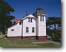 Stock photo. Caption: Point San Luis Lighthouse San Luis Obispo County California -- united states america light lite station historical lighthouses pacific coast beacon beacons direction guidance pharos navigation navigational aid aids coastal safe safety  building buildings vintage