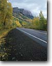 Stock photo. Caption: Hermosa Cliffs   from Highway 550 San Juan Mountains Rocky Moutains,  Colorado -- united states america aspen aspens trees forest rural fall autumn country rockies road roadways highways roads transportation travel byway scenic dive drives