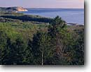 Stock photo. Caption: Empire Bluffs and Lake Michigan  from North Bar Overlook Pierce Stocking Scenic Drive Sleeping Bear Dunes National Lakeshore Lower Peninsula, Michigan -- united states america great lakes midwest midwestern shoreline shore lakeshores hardwood forests