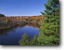 Stock photo. Caption: St. Louis River Fond du Lac Park Duluth St. Louis County,  Minnesota -- Keywords: parks great lakes united states america landscape landscapes lakeshore blue water fall autumn sunny clear crisp blue sky skies lakeshores city