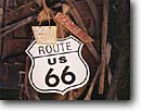 Stock photo. Caption: Antiques and sign Route 66 New Mexico -- americana nostalgic nostalgia united states america historic historical sixty six route famous roadway signs scenic