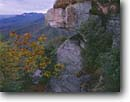 Stock photo. Caption: Table Rock Mountain from Caesar