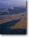 Stock photo. Caption: Table Rock Mountain and Reservoir   from Caesar