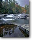 Stock photo. Caption: South Saluda River   at Blythe Shoals Blue Ridge Escarpment Greenville County,  South Carolina -- united appalachian mountains south southeast southern southeastern states america appalachia forests water flowing serene waterfalls waterfall cascades cascading creek creeks fall autumn pure purity water forests