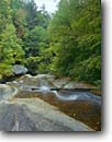 Stock photo. Caption: Matthews Creek near Ravens Cliff Falls Mountain Bridge Wilderness Caesar