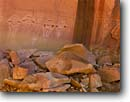 Stock photo. Caption: Five Faces pictograph Davis Canyon Canyonlands National Park Colorado Plateau,  Utah -- petroglyph native american rock parks ancient civilization civilizations indian indians communication historic historical mystical petroglyphs spiritual anasazi culture glyph glyphs areas pictographs human depiction humans panel panels painting paintings