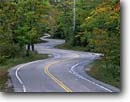 Stock photo. Caption: Isleview Road Northport Door Peninsula  Door County, Wisconsin -- roads country winding windy curve curves fall autumn color colors great lakes united states america highway highways scenic drive drives twisty curvey curvy direction