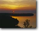 Stock photo. Caption: Lake Michigan Peninsula State Park Door County Door Peninsula, Wisconsin -- Keywords: great lakes united states america sunset sunsets region landscape landscapes calm peaceful reflection reflections parks peninsulas cloudy clouds