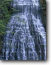 Stock photo. Caption: Waterfall in Elora Gorge Grand River Elora Gorge Conservation Area Ontario,  Canada --  waterfalls rivers cascade cascades international travel canadian lacy level terraced terraces travels gorges falls cascade cascades veil veils areas creek creeks