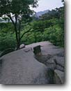 Stock photo. Caption: Ulsanam Rock Soraksan National Park    near Sokcho near the East Coast Republic of South Korea -- asia asian peninsula korean travel tourist destination destinations spring attraction attractions landscape landscapes scenic scene parks protected smooth landmark landmarks