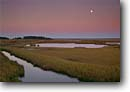 Stock photo. Caption: Tidal marsh along Fenwick Island   and the South Edisto River ACE Basin Colleton County,  South Carolina -- Full moon united deep south southern southeast southeastern states america rivers lowcountry swamp swamps swampy pristine estuarine estuary estuaries unspoiled ecosystem ecosystems reserves marshes moons moonrise moonrises intertidal