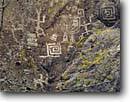 Stock photo. Caption: Petroglyphs Blue River Apache National Forest Colorado Plateau,  Arizona -- petroglyph art southwest southwestern rock ancient rocks united states america ancient civilization civilizations native american communication spiritual