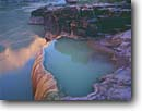 Stock photo. Caption: Pumpkin Springs Colorado River Grand Canyon National Park Colorado Plateau,  Arizona -- united states america desert deserts canyons country parks plateaus landscape landscapes tourist travel destination destinations fragile delicate travertine hot springs spring unusual ethereal rivers excursion trip trips