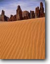 Stock photo. Caption: Yei Be Chei Rocks Monument Valley   Navajo Tribal Park Colorado Plateau, Arizona -- indian native american canyon country deserts parks dune buttes sand dunes ripples evening butte ripple spire sandy southwest western painted desert united states america desolate arid reservation reservations landmark landmarks landscape landscapes
