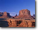 Stock photo. Caption: Navajo horseman and Mitten Buttes Monument Valley   Navajo Tribal Park Navajo Nation,   Arizona -- united states america wisdom quiet canyons landscape majestic red rock country landscapes canyons deep vista view views vistas sunny landmark landmarks people person horse animal animals rider riding native american  horseback proud natives clear blue sky