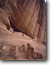 Stock photo. Caption: White House Ruin Canyon de Chelly National Monument Colorado Plateau Arizona -- indian ruins pueblo pueblos anasazi parks alcove alcoves united states america native american americans ancient civilization civilizations water stains stained desert varnish cliff dwelling dwellings cliffs monuments archeology red rock countryarchitectu
