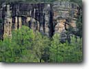 Stock photo. Caption: Roark Bluff   along the Buffalo River Buffalo National River Arkansas -- united peaceful calm calming morning  deep south southern states america lands ozarks ozark cape landscapes rock rocks bluffs wild and scenic rivers recreation areas area towering cliffs landscape spring