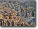Stock photo. Caption: Borrego Badlands from Fonts Point Anza-Borrego Desert State Park San Diego County, California -- sonoran desert united states america erosion eroded tourist destination parks landscape landscapes harsh environment stark fluted badland background backgrounds