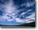 Stock photo. Caption: Morning clouds Juniper Lake Lassen Volcanic National Park Cascade Range,  California --  parks peaks mountains summer united states america ranges landscape landscapes tourist destination destinations cascades independence majestic family vacation natural features beautiful cloud