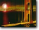 Stock photo. Caption: 4th of July,  Golden Gate Bridge   and San Francisco Bay Golden Gate National Recreation Area Marin County,  California -- united states america landscape landscapes coast coasts west pacific  skyline bridges famous skylines suspension fireworks evening night lights explosive explosives burst celebration celebrations country fourth independence day city cities areas holiday