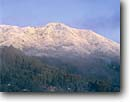 Stock photo. Caption: Rare snowfall   on Mount Tamalpais Marin County California -- united states america landscape landscapes west pacific san francisco bay area coast range snow weather phenomena winter crisp sunny unusual snowy covered