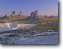 Stock photo. Caption: Tufa towers Trona Pinnacles Natural Area San Bernardino County Mojave Desert,  California -- united states america mohave unusual  rocks geologic geological stark  areas desert deserts landscape landscape