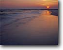 Stock photo. Caption: Sunset over the Gulf of Mexico Santa Rosa Island Gulf Islands National Seashore Florida -- united states america seascape seascapes sunsets beach islands clouds surf waves beaches seashores parks deep south southern southeast southeastern states travel tourist destination destinations shoreline shorelines