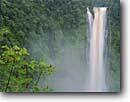 Stock photo. Caption: Akaka Falls Akaka Falls State Park Hamakua Coast Island of Hawaii, Hawaii -- united states america waterfall waterfalls tropical destination vacation vacations forest forests islands parks rivers colorful power powerful landscape landscapes hawaiian rainforest rainforests