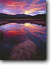 Stock photo. Caption: Dawn Bulltrout Lake Boise National Forest Rocky Mountains,  Idaho -- united states america parks vista vistas views landscape landscapes  mountain rockies forests lakes sunrise sunrises lakes reflection reflections