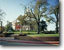 Stock photo. Caption: Maryland State House Annapolis Maryland -- landscape landscapes scenic scenics scene historical historic attraction attractions sunny clear community building buildings spring sunny clear government courthouse