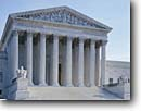 Stock photo. Caption: Supreme Court Building Capitol Hill Washington D.C. United States of America --   americana nostalgic nostalgia united states america cloudy historic historical building buildings statues capitols cityscape cityscapes government power politics courts column columns district columbia justice