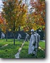 Stock photo. Caption: Korean War Veterans Memorial Statues of soldiers on patrol The Mall Washington D. C,  USA -- Keywords: americana nostalgic nostalgia united states america historic historical building buildings statues capitols cityscape cityscapes government power politics soldier memorial memorials district columbia