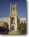 Stock photo. Caption: Washington National Cathedral Washington D.C. United States of America -- americana historic historical building buildings cityscape cityscapes memorial memorials district columbia sunny clear cathedrals landmarks landmark religious sites site religion worship faith hope spiritual icon church churches famous