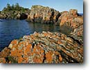 Stock photo. Caption: Basalt islands southeast   of Tooker