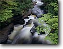 Stock photo. Caption: Presque Isle River Porcupine Mountains Wilderness  State Park Upper Peninsula, Michigan -- attraction attractions northern landscape landscapes scenic scenics great lakes destinations rivers summer water flowing destination destinations creek creeks