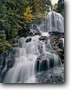 Stock photo. Caption: Beaver Brook Falls Beaver Brook Coos County New Hampshire,  New England -- waterfall waterfalls creek creeks united states america tourist travel destination destinations attraction attractions springs white water flowing plunging interlude grace spring autumn fall cascades cascading northern northeast northeastern