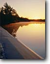 Stock photo. Caption: Sunrise Catfish Lake Croatan National Forest North Carolina -- united park southern appalachian states america parks trees mountain national landscapes landscape travel tourist destination destinations lakes clear sunny blue skies lakeshore lakeshores autumn fall beach beaches southern south southeast