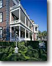 Stock photo. Caption: John Calhoun Mansion Charleston Berkeley County South Carolina -- united states america east eastern southeast southeastern atlantic building buildings village historic historical classic mansions heritage history garden splendor antiques architectural american castle ornate politician grand grandeur statues castles