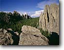 Stock photo. Caption: Cathedral Spires Custer State Park Black Hills South Dakota --  united states america summer  geologic landscape landscapes parks