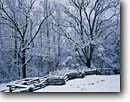 Stock photo. Caption: John Oliver Place Cades Cove Great Smoky Mountains National Park Tennessee -- snow snowfall snowstorm storm stormy fence split rail fences homestead homesteads winter cold appalachia appalachian southern southeastern southeast heritage parks world heritage site sites historic wintery landscapes landscape scenic scenics