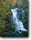 Stock photo. Caption: Bald River Falls Bald River Gorge Wilderness Cherokee National Forest Onicoi Mountains,  Tennessee -- united states america waterfall waterfalls fall autumn color colors river canyon south southern states southeast mountains appalachian wildernesses tourist attraction attractions area areas water refreshing fresh flowing foliage scenic scenics large tall