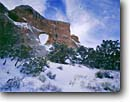 Stock photo. Caption: Tunnel Arch in winter Devil