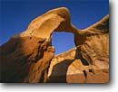 Stock photo. Caption: Metate Arch, Devil